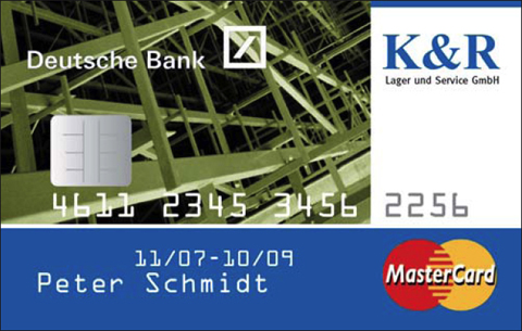 Deutsche Bank / K&R-Kundenkarte