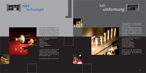 Image-Broschüre, PRODUKTfelder Niettechnologie & Kaltumformung