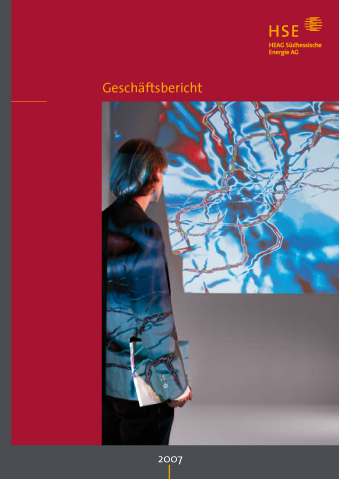 Konzept / Gestaltung, HSE Geschäftsbericht 2007